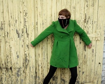 Summer CLEARANCE EVENT Black Ribbed Cowl Neck Warmer, Ninjawear