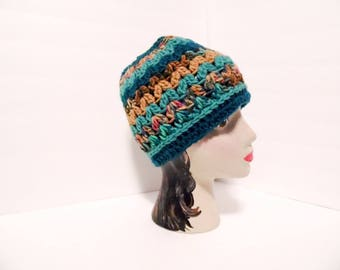 Messy Bun Hat,  Muddy Reef Colors