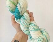 Fizz Pop - Hand dyed 4ply/sock yarn 100g/400m superwash merino, cashmere, nylon blend