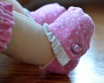 "Waldorf Doll Shoes Custom Shoes 15"" 16"" Soft Doll Shoes"