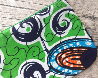 Cosmetic bag with zip, Zip cosmetic bag, Bag cosmetic zip, Zip bag cosmetic, Bag zip cosmetic, African waxprint bag