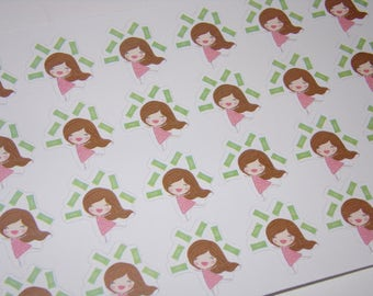 28 PayDay Stickers! Hooray for PayDay! Great for use in your Erin Condren Life Planner