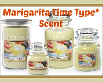 MARGARITA TiME Scented Soy Wax Melts Tarts - Refreshing Alcoholic Lime Salt Beverage - YC Duplication Type* - Max Scented - Handmade In USA