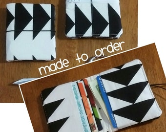 MADE TO ORDER - Mini wallet