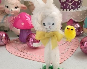 """Vintage Inspired Easter SuGaR SwEeT Spring Keepsake Bunny """"Pickles"""""""