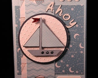 Ahoy Baby Boy card