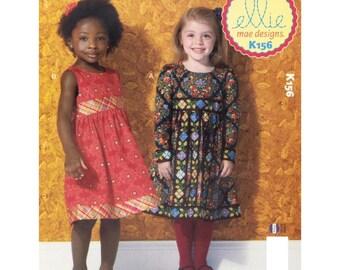 Ellie Mae Designs Little Ladies Pattern Sewing Pattern- Sizes 3- 10 yrs.