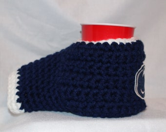 Ready to ship - Penn state Drink Mitt  - The mitten with the drink holder - show your team pride