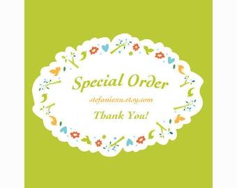 Special Order for Peiwen***