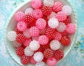 Berry Beads - Valentine Mix - 15mm - Set of 20