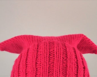 100% Planned Parenthood Pink Pussy Hat Customizable Washable