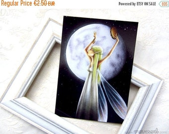 Spring cleaning sale Moondance - Postcard