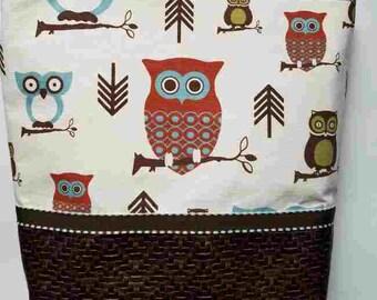 Brown owls purse