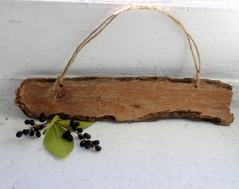 "DIY 9 3/4"" Driftwood Sign , Beach Decoration , Natural Woodland Art Supplies"