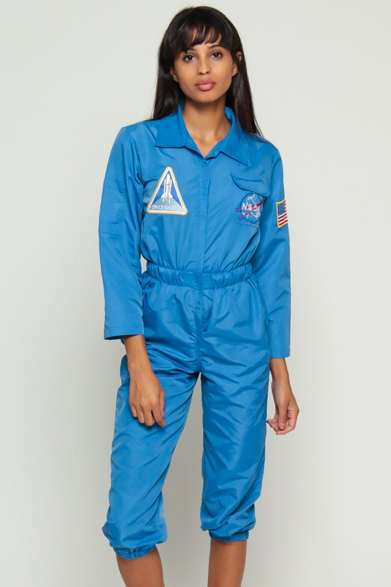nasa jumpsuit blue - photo #3
