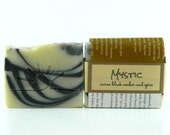 MYSTIC - Dark Amber Soap / Motorcycle Soap / Organic Soap for men