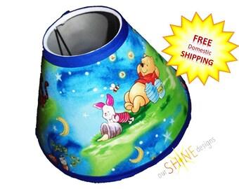 Winnie the Pooh Lampshade, Pooh Lamp Shade, Nursery Decor, Pooh Decor, Pooh Nursery Decor, Winnie the Pooh Lamp Shade, Toddler Room Decor