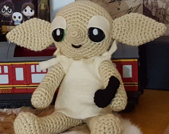 Harry Potter Dobby Amigurumi Pattern PDF - House Elf - Instant Download