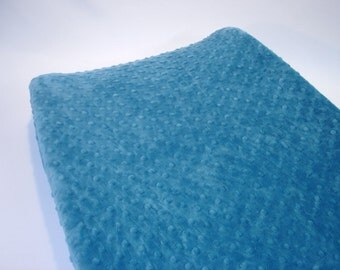 Changing Pad Cover Aegean Blue