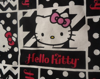 Hello Kitty Bowling Panel Shirt, Made to Order, Choose Men's Small up to 6XL