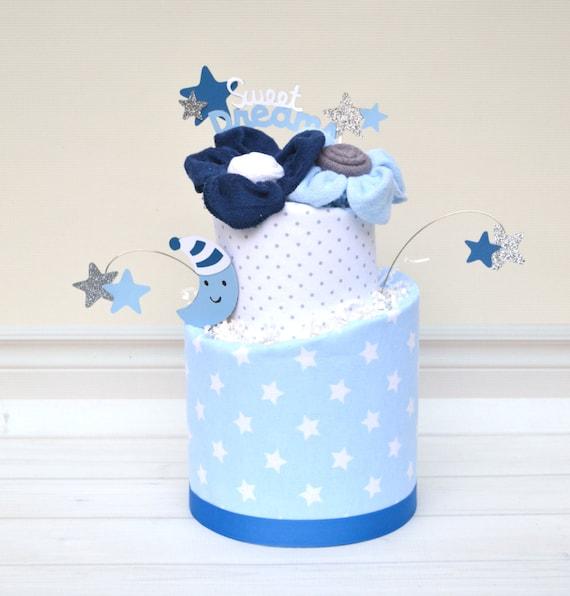 Twinkle Little Star Baby Shower Diaper Cake, Twinkle Twinkle Baby Shower, I Love You to the Moon Baby Shower, Stars Moon Baby Shower