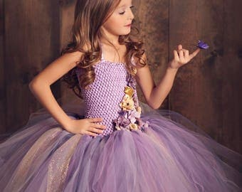 Wisteria Wonders Tutu Dress