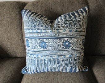 "Pillow Cover with piping and zipper, 22"" x 22"", One Cover, Your Fabric Selection, You Pay Shipping, Made to Order."