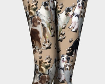 Australian Shepherd leggings