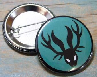 Jackalopia Badge 38mm (x1)