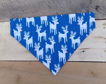 Dog Holiday Bandana -medium dogs - 25-50lbs