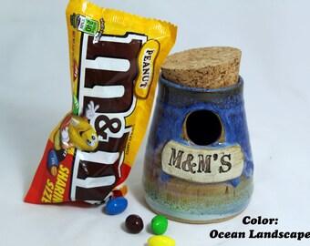 M&M Jar in 5 Colors
