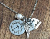 Godmother Gift Godmother Necklace Godmother Jewelry For Godparent Necklace Godmother Gift For God Mother Aunt Gift Communion Cross