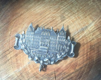 Vintage pin, Albany New York