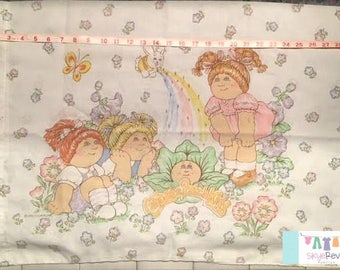 Vintage Cabbage Patch Kids Pillowcase
