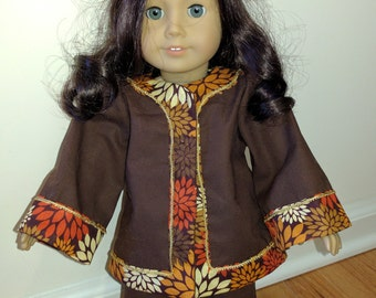 Chinese/Asian outfit fits 18 inch doll such as American Girl