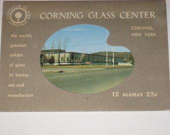Corning Glass Center New York 12 Scenes Glass Exhibits History Use Manufacture