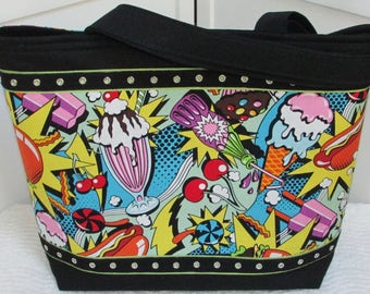 Midnight Snack Shoulder Bag Ready To Ship
