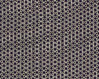 Japanese Tenugui Towel Cotton Fabric, Hemp Leaves, Asanoha, Hand Dyed Fabric, Purple Fabric, Traditional Art, Wall Art, Home Decor, a174