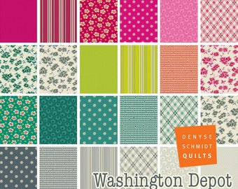 PREORDER: Washington Depot - Half Yard Bundle by Denyse Schmidt - Full Collection - 23 prints