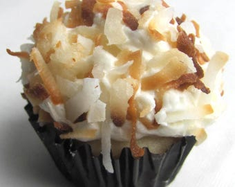Coconut Cream Mini Cupcake