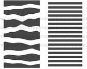 MiniMoley Stencil Set - Backgrounds
