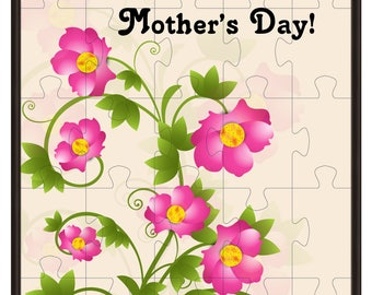 Jigsw PuzzleJ3-clipart-Background-Flowers-Gift Cards-Happy Mothers Day-Digital Clipart-Website-Flowers-Banner-Notebook-Scrapbook