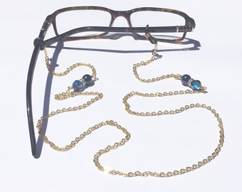 Glasses Chain || Navy