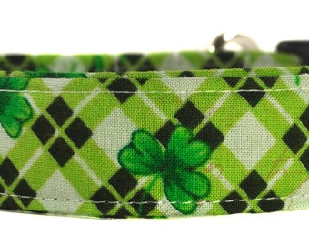 St. Patrick's Day Dog Collar - The Lucky Charm
