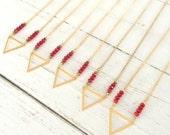 The Vampire Diaries Necklace As Seen on Elena/TVD /Nina Dobrev Elena Gilbert Necklace/Season 6 Original Design Exclusive/Celebrity Jewelry