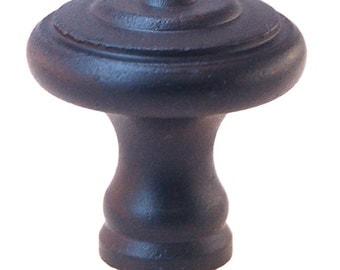 """cast iron fancy knob, 1 3/16"""" dia"""