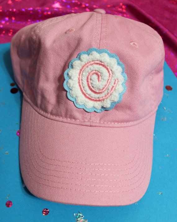 Kawaii Naruto Fish Cake Chenille Patch Baseball Hat - Strapback Custom Hat Colors