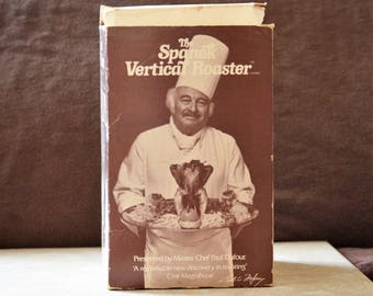 Spanek Vertical Roaster/Chicken Roaster/Pork Roaster/Oven Roast Pan/1977