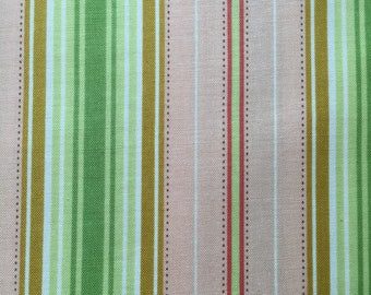 Freshcut by Heather Bailey for Free Spirit ~ 100% Cotton BTY ~ Lounge Stripe PWHB027 ~ Peachy