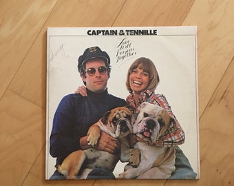 Vintage Record Captain & Tennille Love Will Keep Us Together Vinyl LP